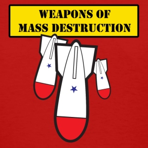 Red Weapons of Mass Destruction Women - Women's T-Shirt