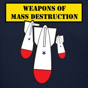Navy Weapons of Mass Destruction Women - Women's T-Shirt