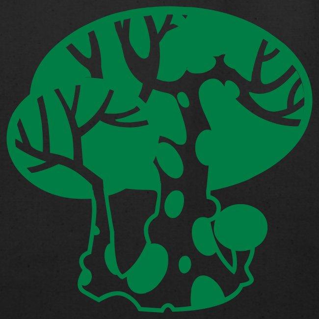 Green Happy Tree