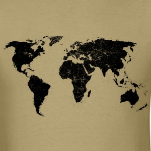 The World is on My Chest - Men's T-Shirt