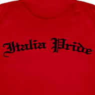 Design ~ Infant Italia PrideGothic , Red
