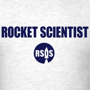 rocket scientist - Men's T-Shirt
