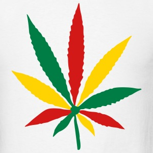 White Herb - Marihuana - Dope - Marijuna - Pot Men - Men's T-Shirt