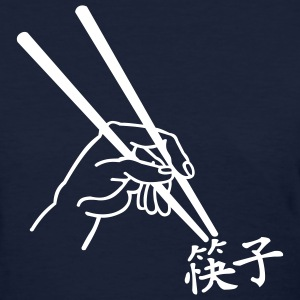 Navy Chopsticks - Chinese Women - Women's T-Shirt