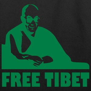 Black Free Tibet - China -   Games Accessories - Eco-Friendly Cotton Tote