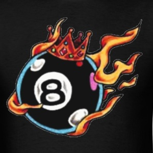 Black behind the 8 ball Men - Men's T-Shirt