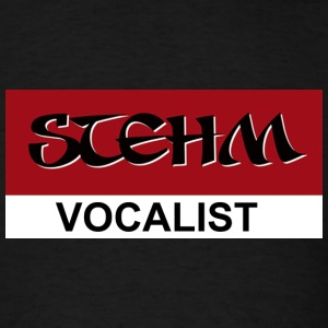 STEHM Vocalist - Men's T-Shirt