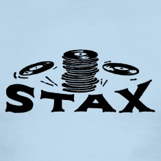 Sky/navy Stax Records T-Shirts
