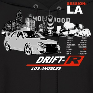 Black Drift-R Los Angeles Men - Men's Hoodie