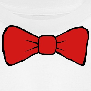 White bow tie Men - Men's T-Shirt by American Apparel
