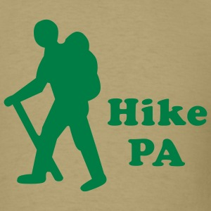 Khaki Hike PA Guy Men - Men's T-Shirt