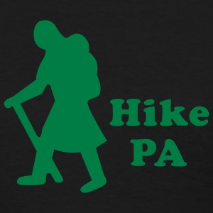 Black Hike PA Girl Women - Women's T-Shirt