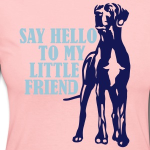 Say Hello To My Little Friend - Women's Long Sleeve Jersey T-Shirt