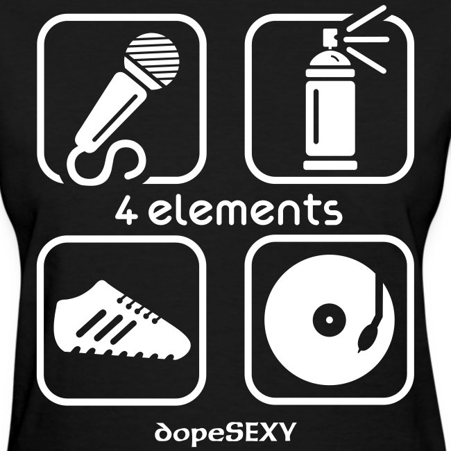 4 Elements Of Real Hiphop