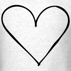 Ash  Heart - Love - Couple - Single - Wedding – Valentine Men - Men's T-Shirt