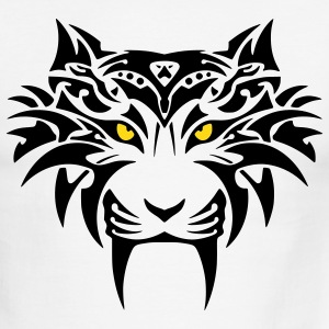 tribal tiger - Men's Ringer T-Shirt