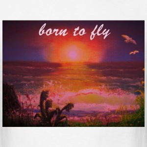 Born to Fly - Men's T-Shirt