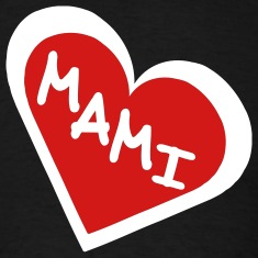 Black Mami in 2-Color Heart Men