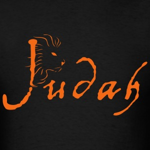 Black Judah w/Lion Head Men - Men's T-Shirt