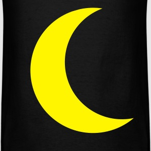 Black yellow moon Men - Men's T-Shirt