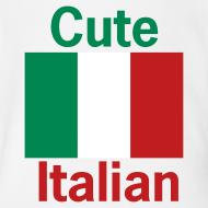 Design ~ Cute Italian Onesy, White