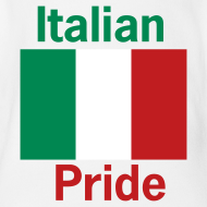Design ~ Italian Pride Onesy, White