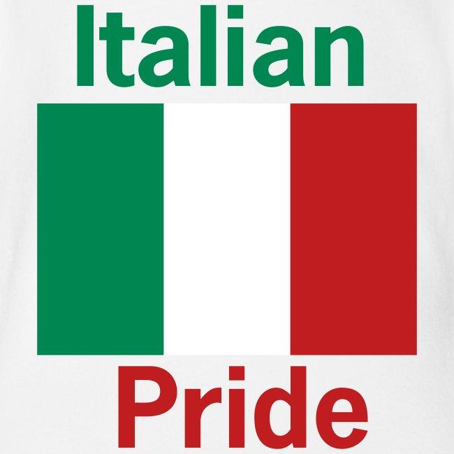Italian Pride Onesy, White
