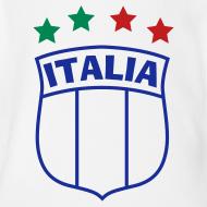 Design ~ Infant ITALIA Shield 4-Star Onesy, white