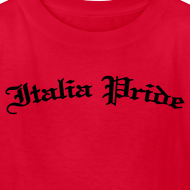Design ~ Kids Italia Pride Gothic, Red