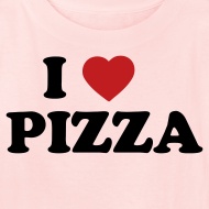 Design ~ Kids I Love Pizza, Pink
