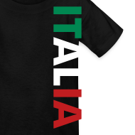 Design ~ Kids ITALIA Tricolore, Black