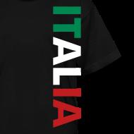 Design ~ Kids ITALIA Tricolore, Black