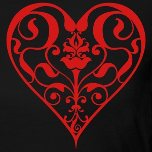 Black heart Women - Women's Long Sleeve Jersey T-Shirt