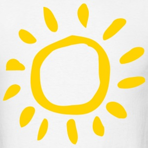 White Sun - Sunny - Summer - Beach - Holiday Men - Men's T-Shirt