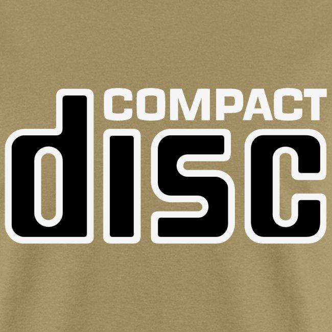 CD Tee (black on white logo)