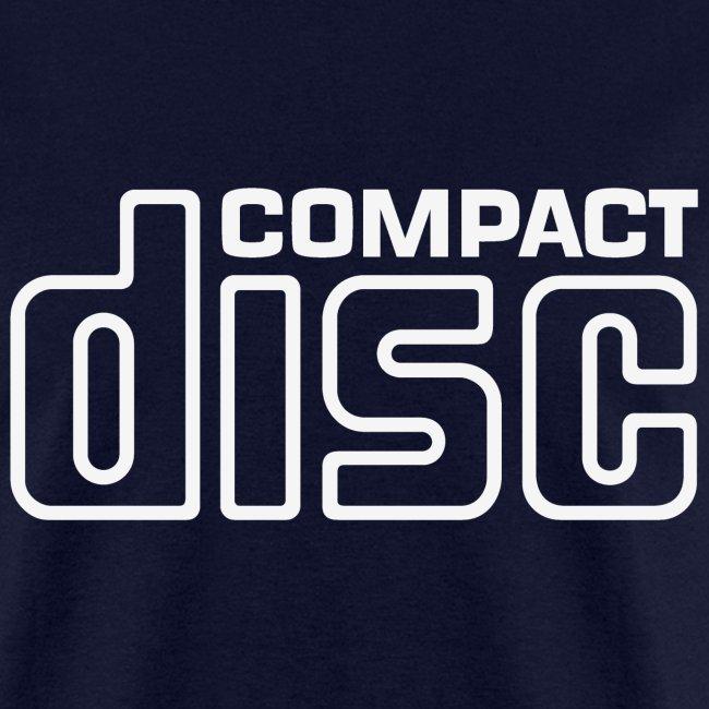CD Tee (white logo)