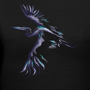 Great Blue Heron - Women's V-Neck T-Shirt
