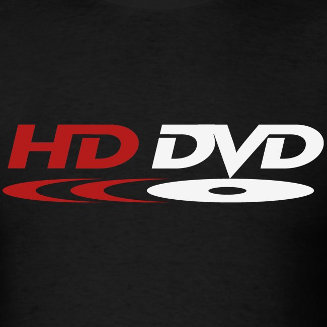 HD-DVD Tee (red & white logo)