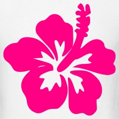 White Hibiscus – Flower – Bloom – Hawaii – Design Men