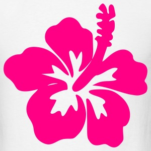 White Hibiscus – Flower – Bloom – Hawaii – Design Men - Men's T-Shirt