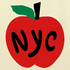Creme Apple NYC Accessories - Eco-Friendly Cotton Tote
