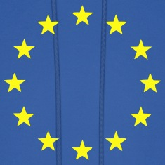 Royal blue EU - European Union - Europe - Flag - Stars Men