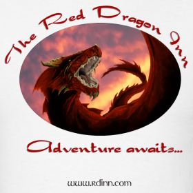 Design ~ Red Dragon Inn Men's Logo Tee