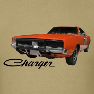 Khaki auto_dodge_charger_rgb_01 T-Shirts (Short sleeve) - Men's T-Shirt