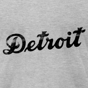 CLASSIC DETROIT! - Men's T-Shirt by American Apparel