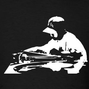 DJ on the 1s and 2s - Men's T-Shirt