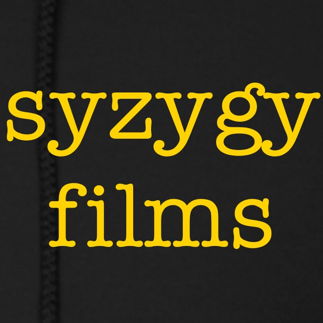 Syzygy Films Gear: The Man's Hoodie