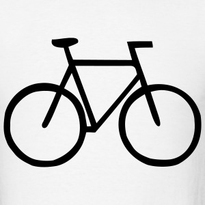 White Bike - Cycling – Sports Men - Men's T-Shirt