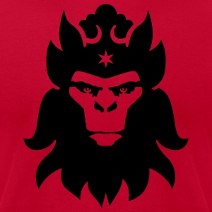 Red The Monkey King Men - Men's T-Shirt by American Apparel