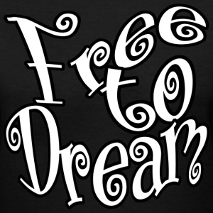 Free to Dream - Women's V-Neck T-Shirt
